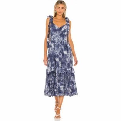 ラブシャックファンシー LoveShackFancy レディース ワンピース ワンピース・ドレス Antonella Dress Midnight Hand Dye