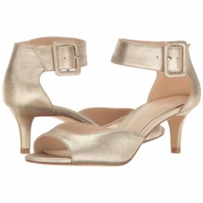 ペレ モーダ Pelle Moda レディース サンダル・ミュール シューズ・靴 Berlin Platinum Gold Metallic Suede