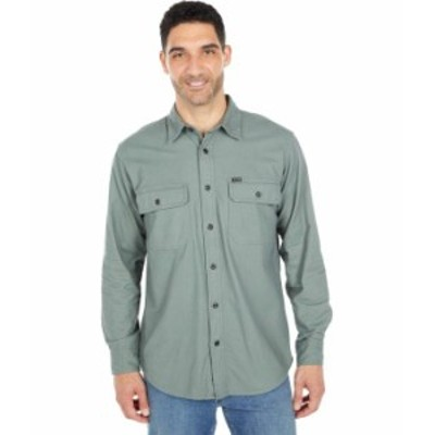 フィルソン メンズ シャツ トップス Field Flannel Shirt Balsam Green