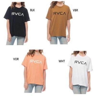 【送料無料】 ルーカ RVCA VA レディース ビッグ BIG RVCA TEE Tシャツ 半袖Tシャツ トップス カジュアル BA043237
