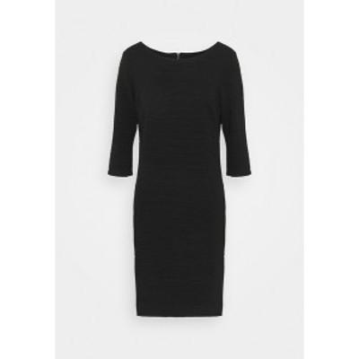 フリークエント レディース ワンピース トップス DANE STRUCTURE - Shift dress - black black