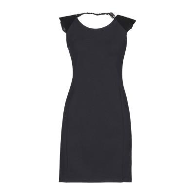 FRACOMINA ミニワンピース&ドレス スチールグレー XL ポリエステル 95% / ポリウレタン 5% ミニワンピース&ドレス