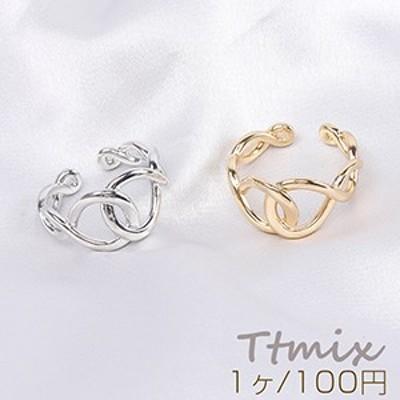 デザインリング 指輪 結び目 幅約12mm(1ヶ)