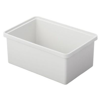 良品計画無印良品 ポリプロピレン収納ボックス・中・ホワイトグレー 幅37×奥行25×高さ16cm 82620795 良品計画