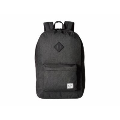 ハーシェルサプライ メンズ バックパック・リュックサック バッグ Heritage Black Crosshatch/Black 1