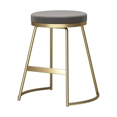 Stools Iron Art Bar Stools Chairs Counter Chair Kitchen Breakfast Barstool Suitable for Family.Counter Height bar stools