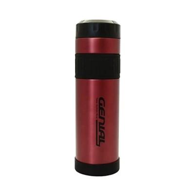 タフコ 魔法瓶 直飲み ステンレスボトル ジュニアル マグカップ カシス 1000ml F-2644 (レッド)