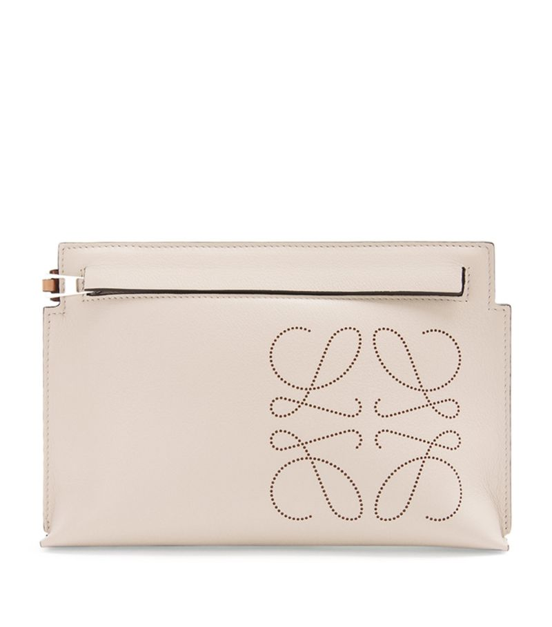 Loewe Leather Mini T Pouch