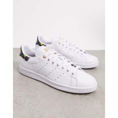 アディダス レディース スニーカー シューズ adidas Originals Bellista Stan Smith sneakers in white White/