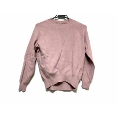 マイストラーダ Mystrada 長袖セーター サイズ36 S レディース 美品 ピンクベージュ【中古】20201103