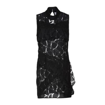 イロ IRO ミニワンピース&ドレス ブラック 36 ポリエステル 100% ミニワンピース&ドレス