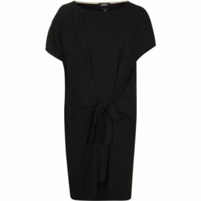 ダナ キャラン ニューヨーク DKNY レディース ワンピース ワンピース・ドレス Short Sleeve Tie Dress BLACK