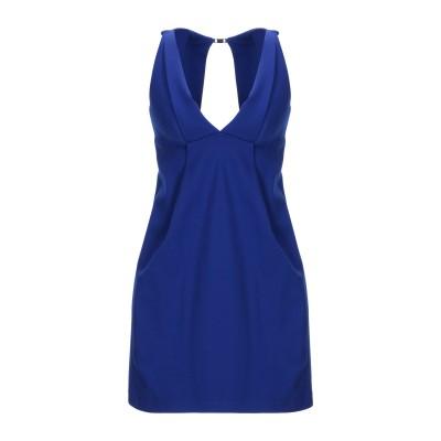 プレイン・スッド PLEIN SUD ミニワンピース&ドレス ブライトブルー 40 レーヨン 69% / ナイロン 25% / ポリウレタン 6%