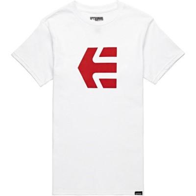 エトニーズ Etnies メンズ Tシャツ トップス Icon Short Sleeve T-Shirt White