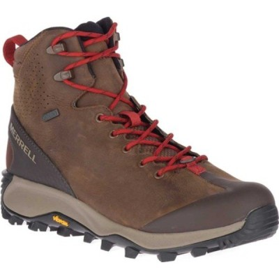 メレル ブーツ&レインブーツ シューズ メンズ Thermo Glacier Mid Waterproof Boot (Men's) Earth Waterproof Full Grain Leather