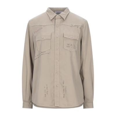 アリーニ AGLINI シャツ サンド 42 コットン 98% / ポリウレタン 2% シャツ