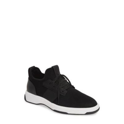 カルバンクライン メンズ スニーカー シューズ Phyll Lace Up Sneaker BLACK