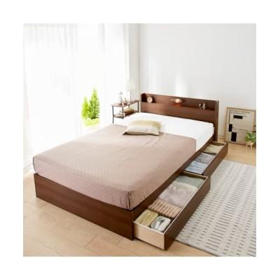 宮。照明。引き出し収納ベッド 収納付きベッド, 収納ベッド, Beds(ニッセン、nissen)