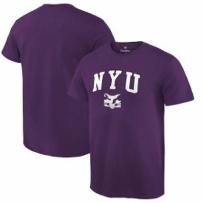 Fanatics Branded ファナティクス ブランド スポーツ用品  Fanatics Branded NYU Violets Purple Campus T-Shirt