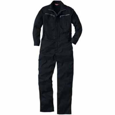 桑和(SOWA) 続服 4/ブラック S~LLサイズ 9900 【作業着 作業服 ワークウェア ウエア つなぎ メンズ】