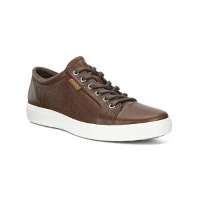 エコー メンズ スニーカー シューズ Men's Soft 7 Sneaker Brown