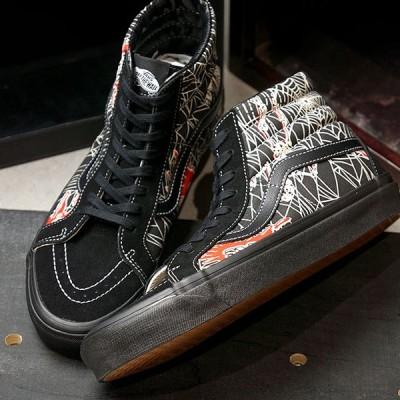 バンズ VANS アナハイムファクトリー スケートハイ ANAHEIM FACTORY SK8-HI 38 DX VN0A38GF1JJ FW20 ハイカットシューズ 靴 OG BLACK OG SPIDER WEB ブラック系