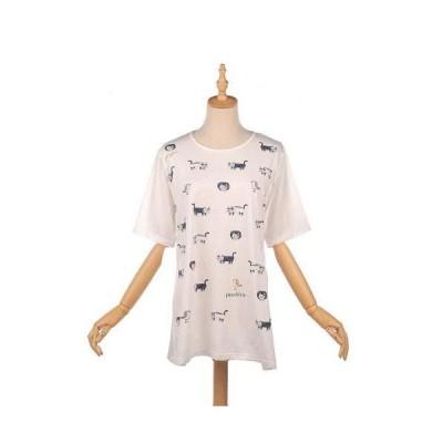 クスグル Tシャツ マチルダさん ルームウェア 809-463