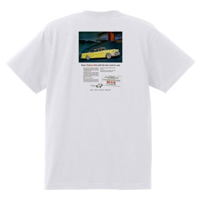 アドバタイジング ビュイック 295 白 Tシャツ 黒地へ変更可能  1954 スーパー リビエラ センチュリー ロードマスター オールディーズ