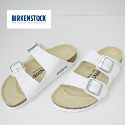 レディース BIRKENSTOCK ビルケンシュトック ARIZONA White アリゾナ 白 51733