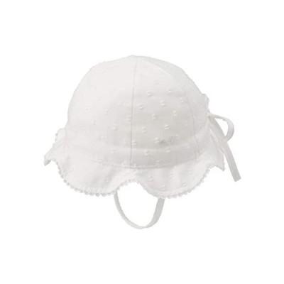 [ミキハウス] チューリップハット 42-9101-382 女の子 ベビー キッズ 赤ちゃん 子供 帽子 (白 M44-48)