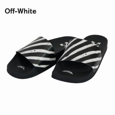 オフホワイト メンズ サンダル ビーチサンダル OMIA088R20C220521001 ブラック ホワイト