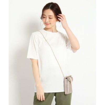 Reflect/リフレクト 【ミモレ掲載/洗える】オーバーサイズTシャツ アイボリー(004) 07(S)