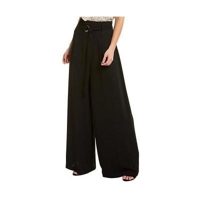 レディース ファッション  BCBGMAXAZRIA High-Waist Belted Flare Pant