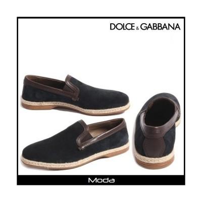 Dolce&Gabbanaドルチェ&ガッバーナ ローファー ブルー ビジネスシューズ メンズ 靴 ドルガバ