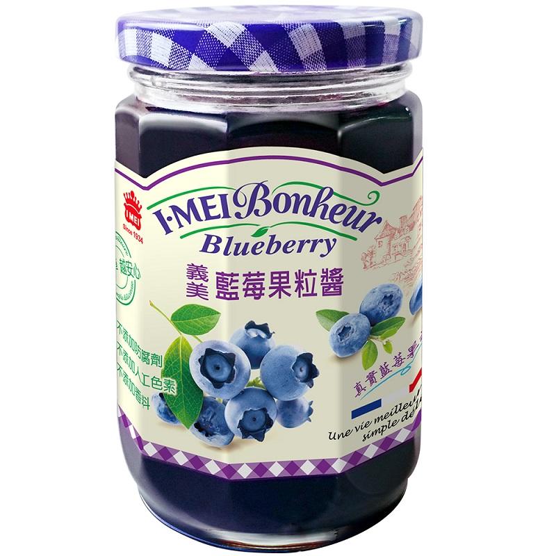 義美藍莓果粒醬