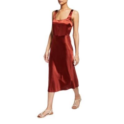 ヴィンス レディース ワンピース トップス Slim Fitted Slip Dress