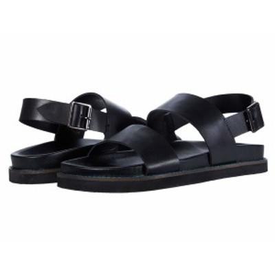 ウォークロンドン メンズ サンダル シューズ Jackson Sandal Black Leather