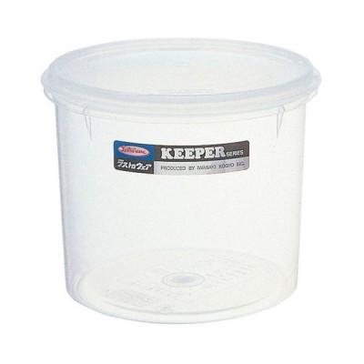 厨房用品 保存容器 / ラストロ・丸キーパー B-314 M 寸法: 直径:151 x H127mm 容量:1600ml 質量:0.132kg