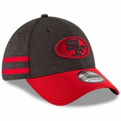 New Era ニュー エラ スポーツ用品  New Era San Francisco 49ers Black/Scarlet 2018 NFL Sideline Home Official 39THIRTY