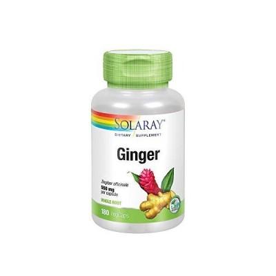 全国送料無料 Solaray Ginger Root Capsules, 550 mg, 180 Count新品