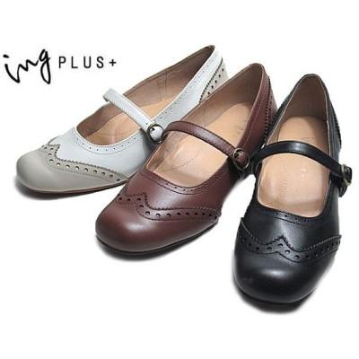 イングプラス ing PLUS + IPLC02759 ストラップパンプス レディース 靴