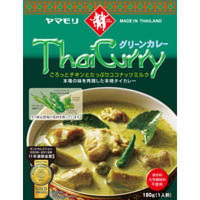 ヤマモリヤマモリ タイカレーグリーン 180g 1食