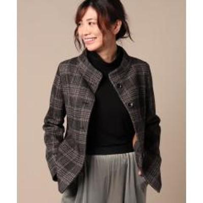 キャラオクルス【STORY11月号掲載】【MAGGIA】チェックのジャケット