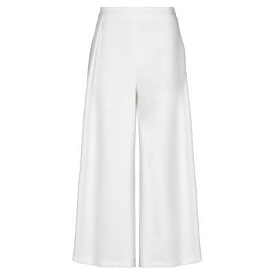 LE STREGHE パンツ ホワイト M ポリエステル 88% / ポリウレタン 12% パンツ