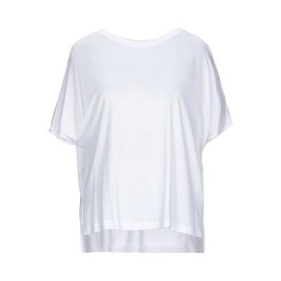 ドンダップ DONDUP T シャツ ホワイト S レーヨン 100% T シャツ