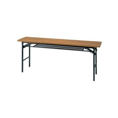 『代引不可』 会議テーブル450(チーク) KM1845TT『返品不可』