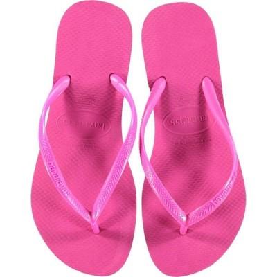 ハワイアナス Havaianas レディース ビーチサンダル シューズ・靴 Slim Flip Flops Hollywood Rose