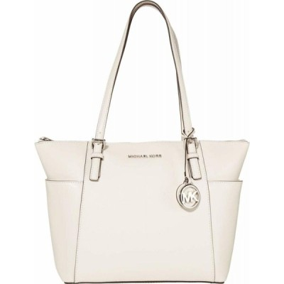 マイケル コース MICHAEL Michael Kors レディース トートバッグ バッグ Jet Set Item East/West Top Zip Tote Optic White