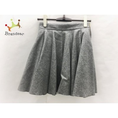 ミューズデドゥーズィエムクラス スカート サイズ36 S レディース 美品 グレー           スペシャル特価 20200414