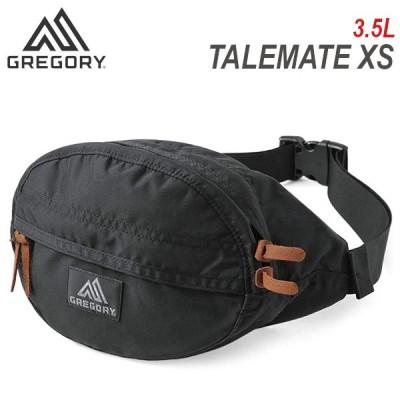 Gregory グレゴリー TAILMATE XS V2 テールメイト ボディバッグ ウエストバッグ ヒップバッグ メンズ レディース 3.5L 119653 ブラック ナイロン